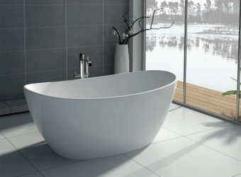 The choice of artificial stone bathtub, comfortable